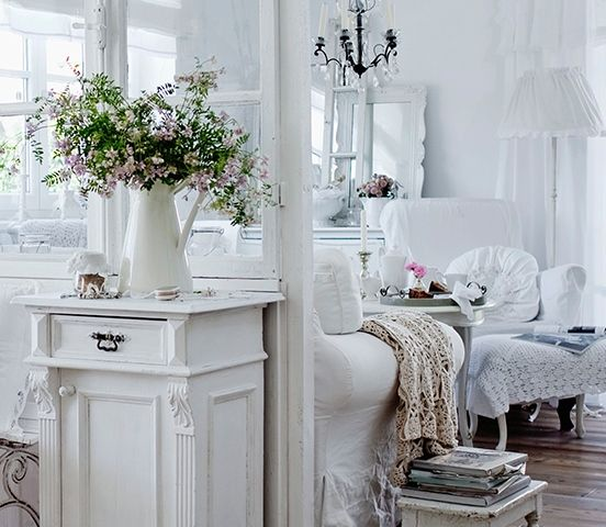 int rieur shabby d co shabby chic pinterest interieur shabby et shabby chic. Black Bedroom Furniture Sets. Home Design Ideas
