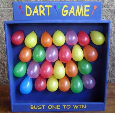 Auction game party pinterest balloon games duck for Fun balloon games for kids