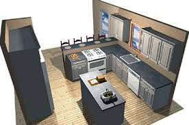 Parallel Kitchen Layout With Island   Google Search