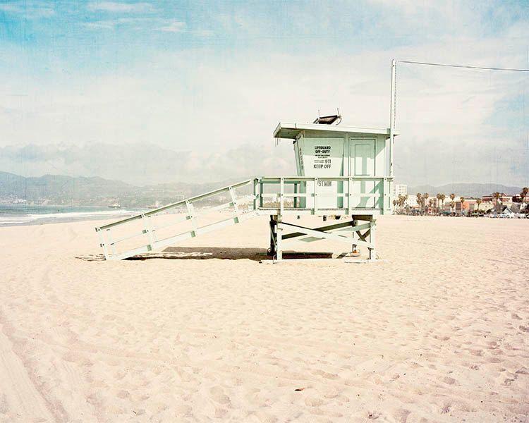 Beach Venice California Lifeguard Tower