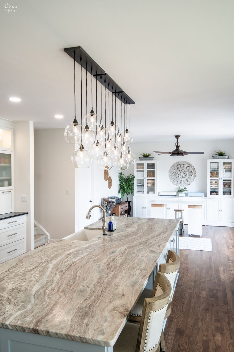 kitchen remodel reveal in 2020 kitchen remodel fancy kitchens kitchen with long island on kitchen remodel under 5000 id=46114
