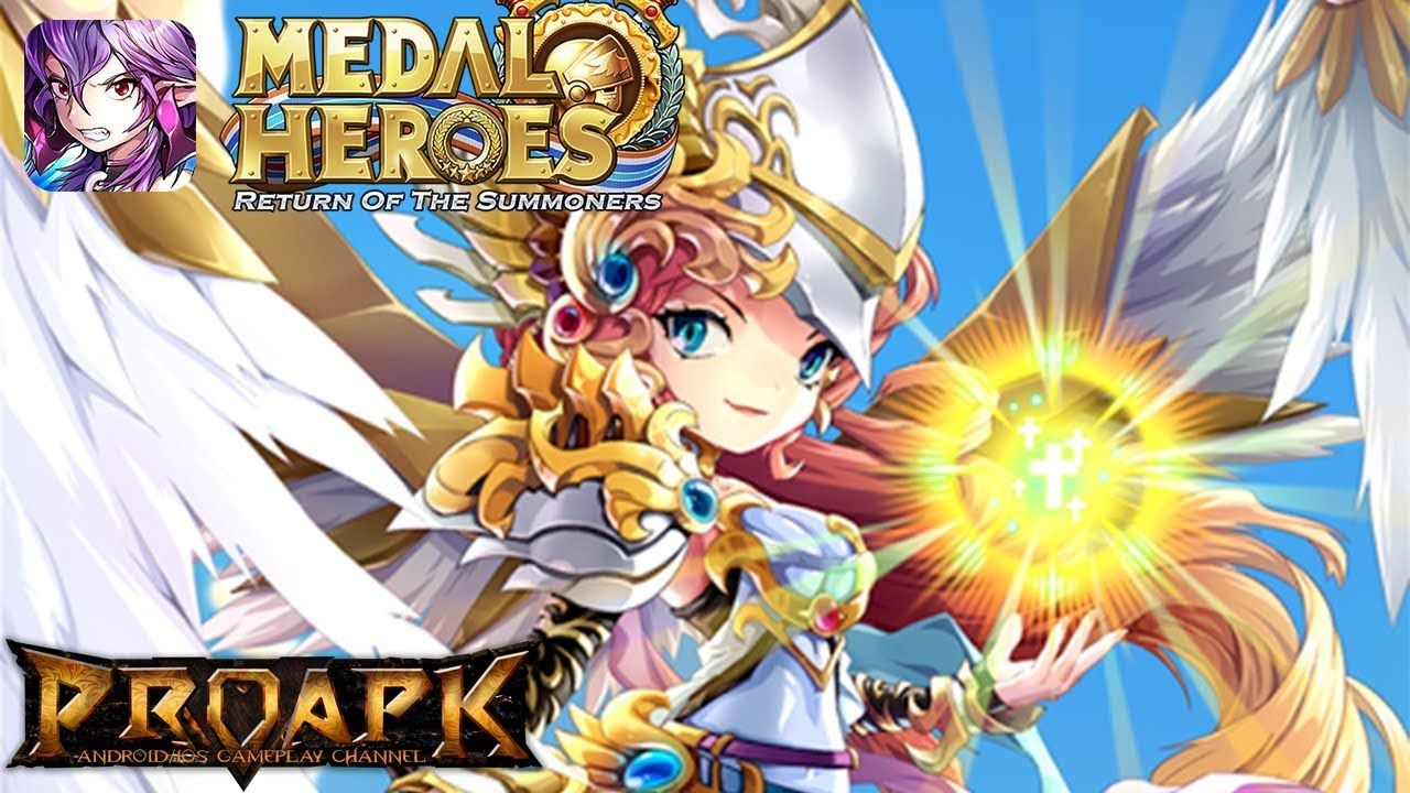 Medal Heroes Return of the Summoners v3.0.7 MOD God Mode