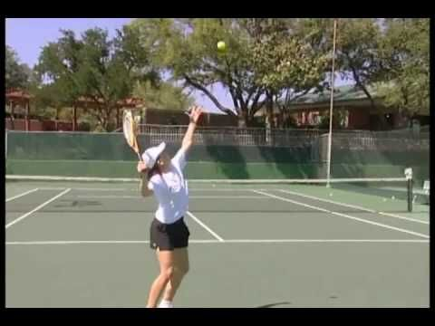 Tennis Instruction - How to hit a kick serve - Tennis Drills - YouTube