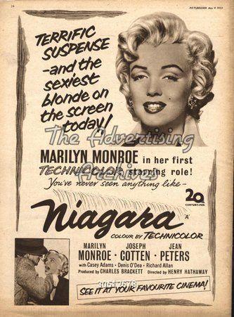 niagara movie poster - Buscar con Google