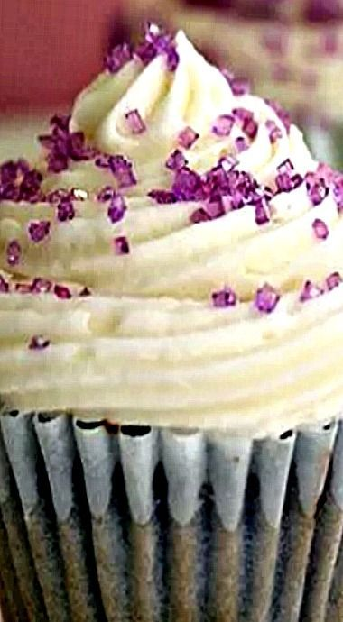 Grape Soda Pop Cupcakes.❊
