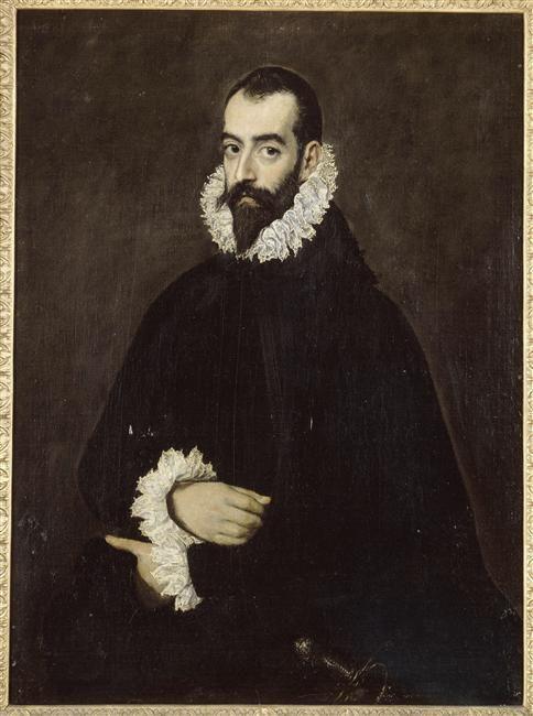 Portrait of Juan Alfonso de Pimentel y Herrera, El Greco    Size: 76x103 cm  Medium: oil, canvas