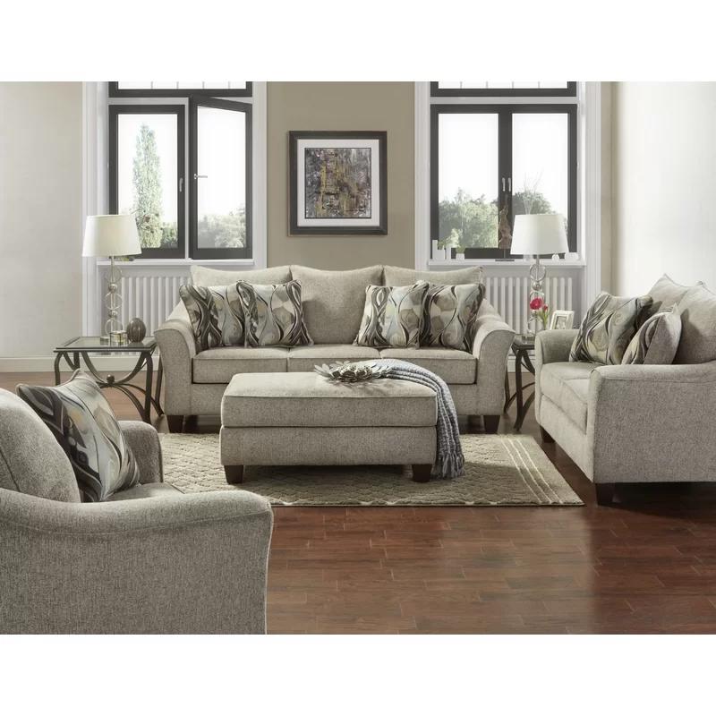 Driskill 4 Piece Living Room Set In 2020