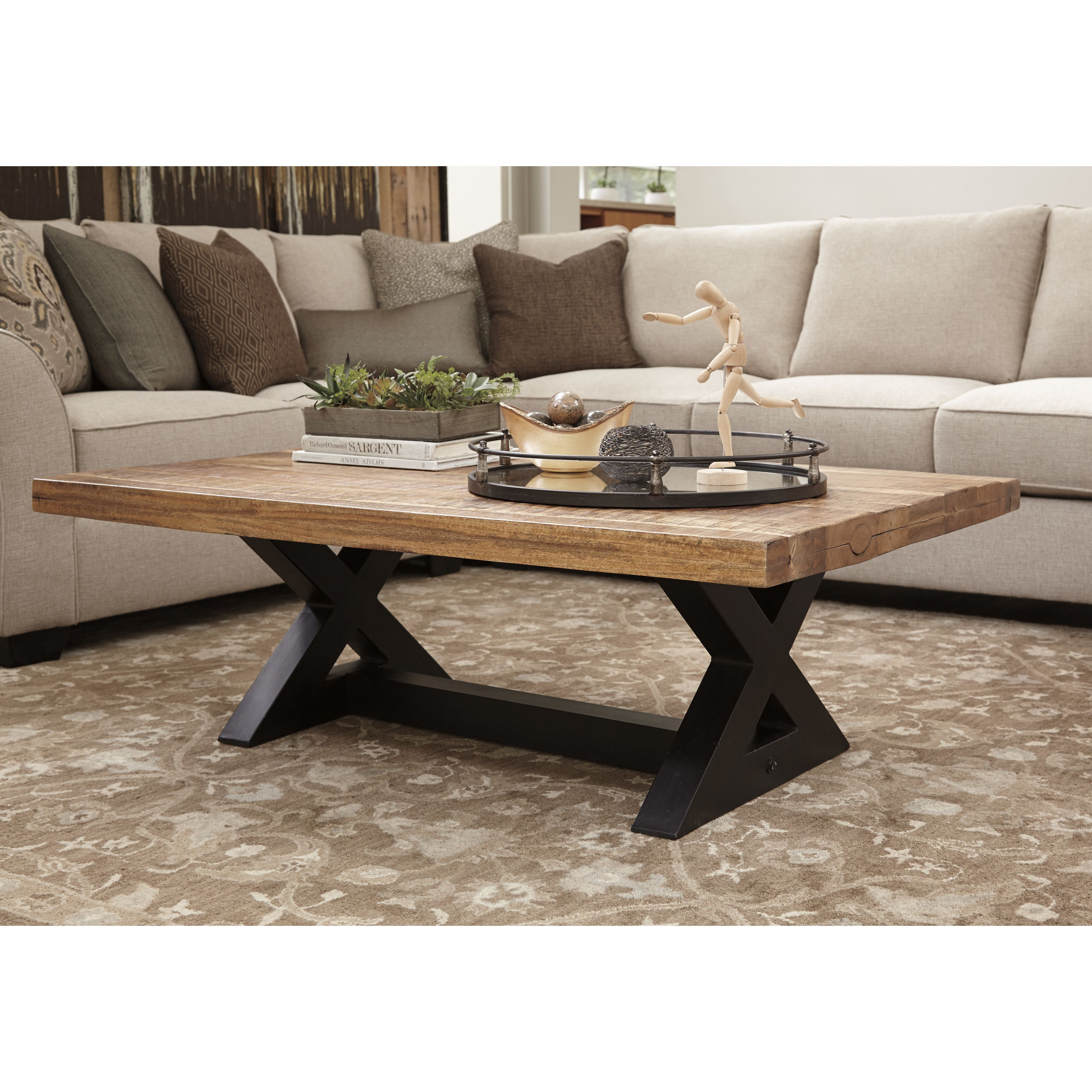 Signature Design By Ashley Bradford Coffee Table With Images