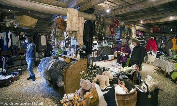 En spennende butikk med stort utvalg