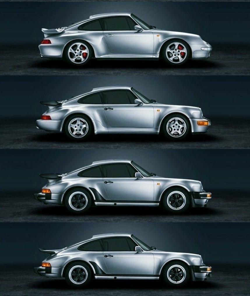 What S Your Favorite Porsche Turbo Porscheturbo Turbocharge 930 964 993 Whaletail Porsche911 911turbo Legend A Porsche Classic Porsche Porsche 911