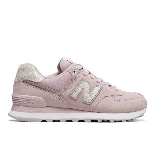 574 Shattered Pearl Women's 574 Shoes - Pink/Grey (WL574CIC ...