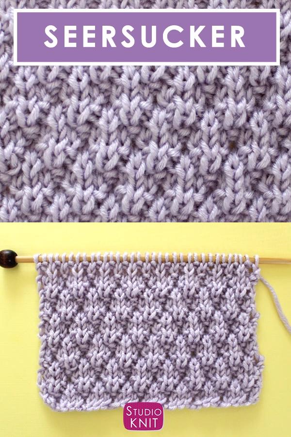 Photo of Seersucker Stitch (Knitting Pattern)