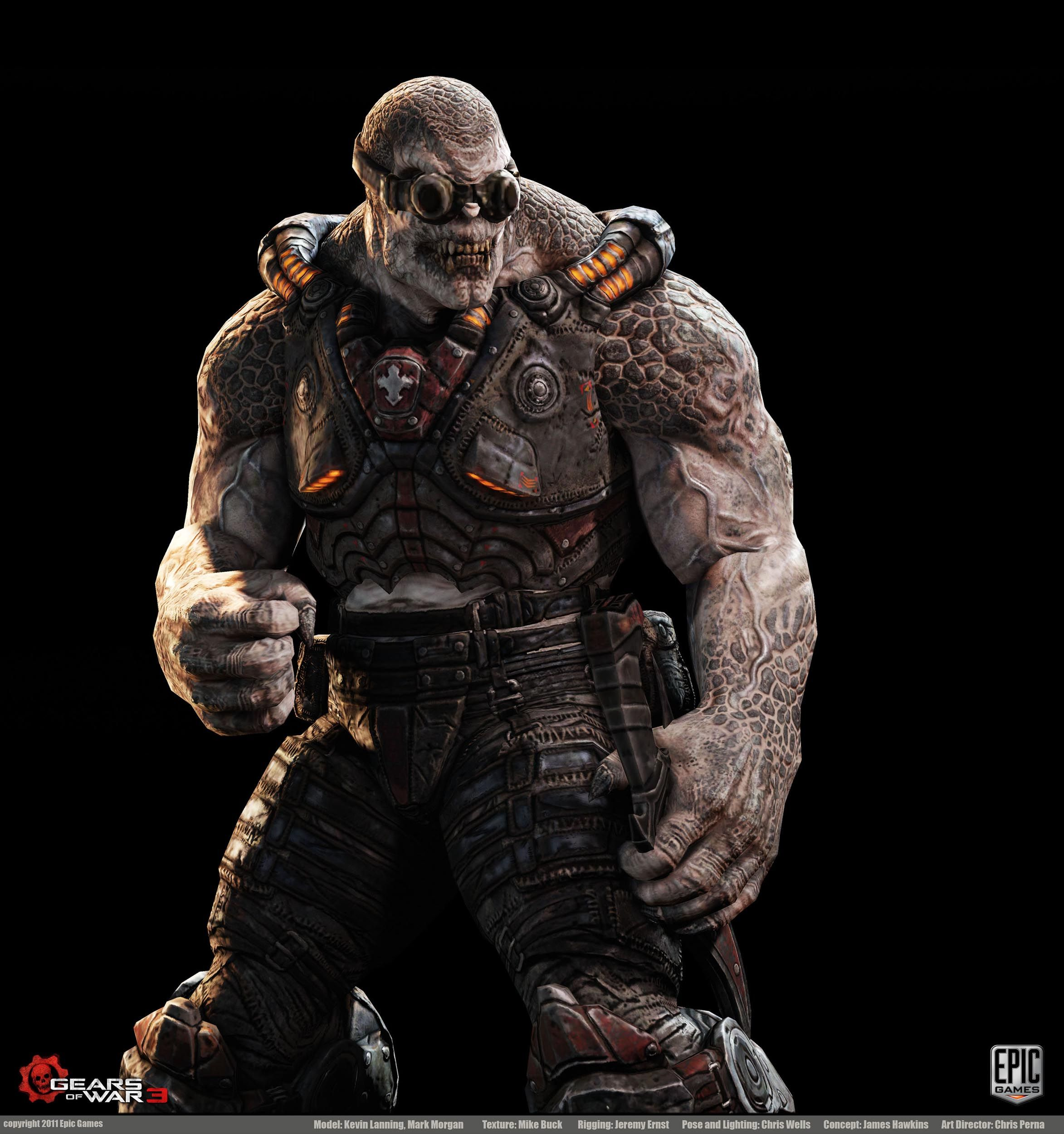 Gears Of War 3 Character Art Dump New Images Posted On Pg 17  # Muebles Hipo Gegant