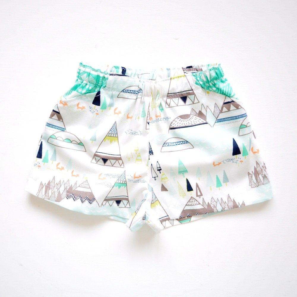 Infant Sewing Patterns Ba Basics Shorts Pants Pdf Ba Sewing Pattern Hey There Threads #toddlershorts
