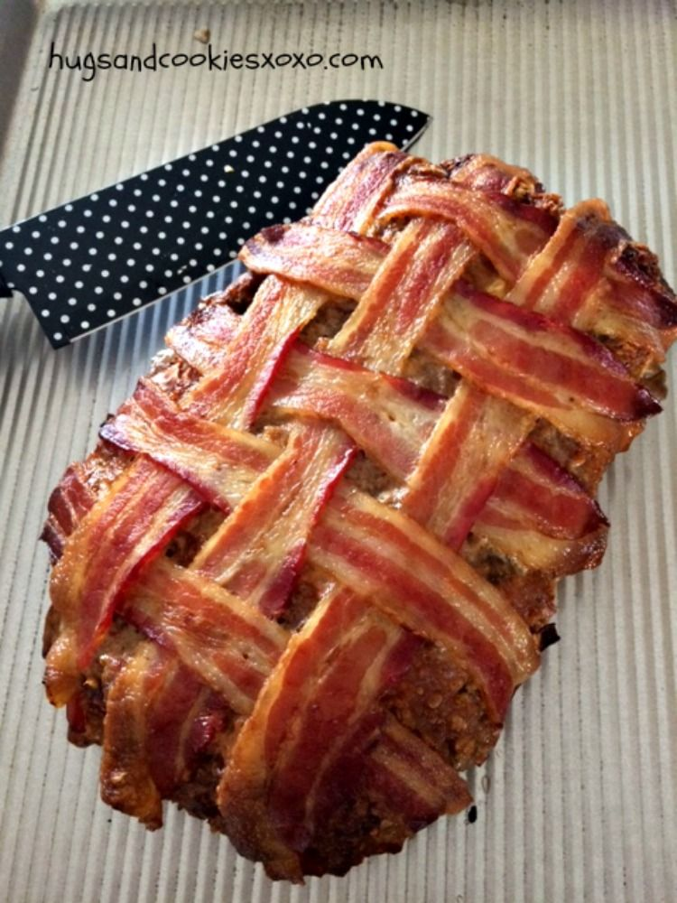 Bacon Wrapped Meatloaf Recipe Good Meatloaf Recipe Recipes