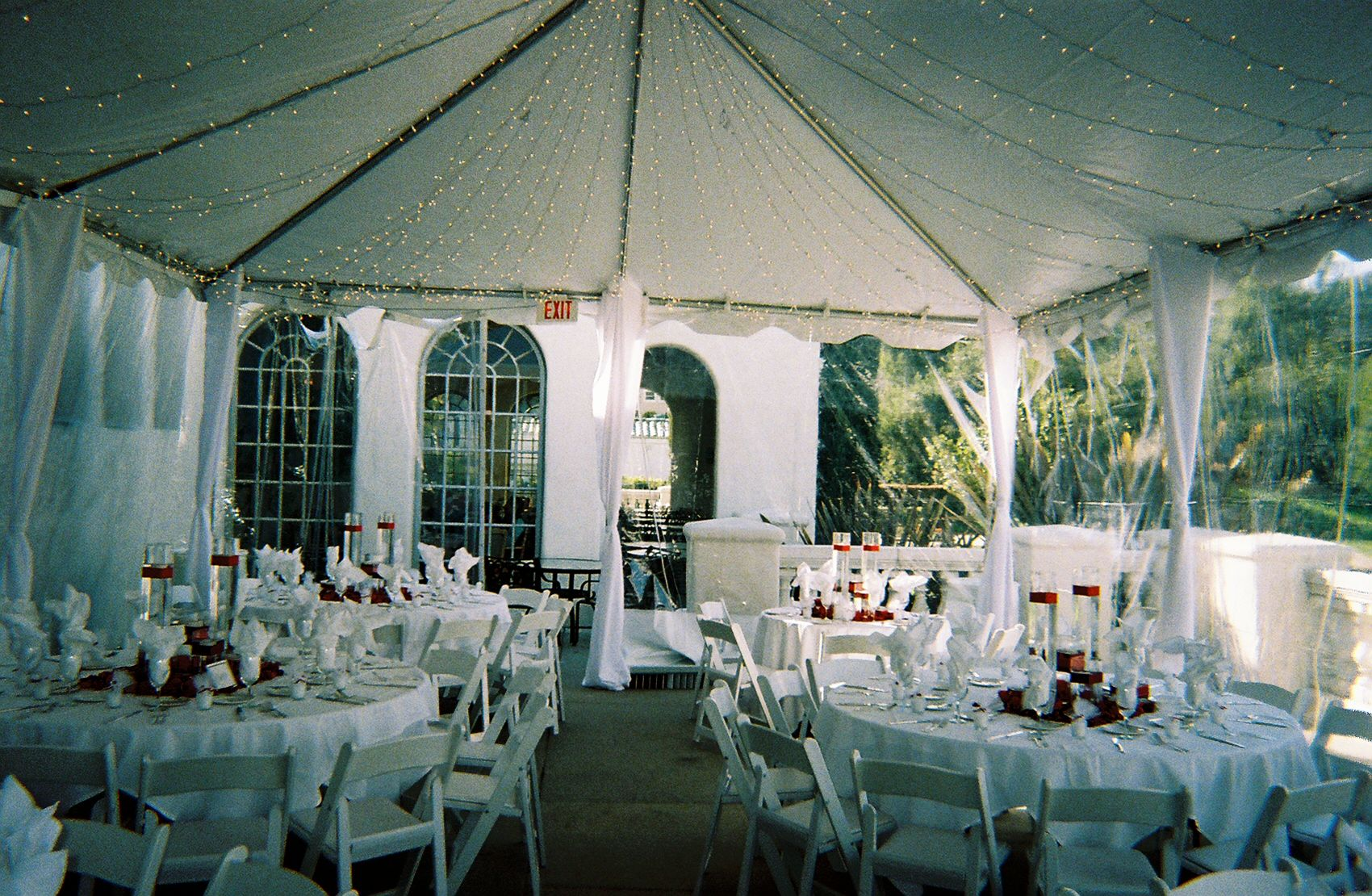 A beautiful tent set up to hold this elegant event. Get a quote for a & A beautiful tent set up to hold this elegant event. Get a quote ...
