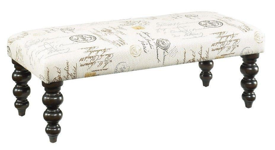 Hidden Treasures - Linen Bench