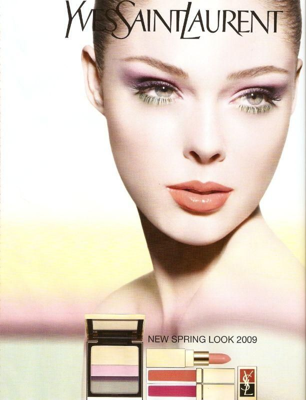 Yves Saint Laurent Ysl Beauty S S 09 Ysl Beauty Ysl Makeup Foundation Ysl Makeup
