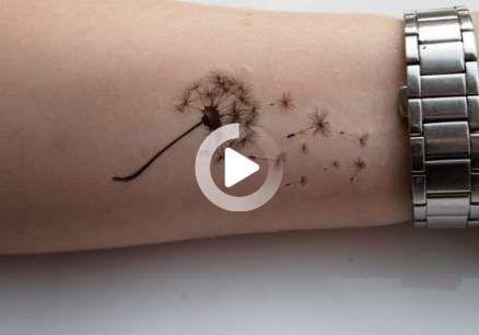 Tattoo wrist dandelion simple 18+  ideas
