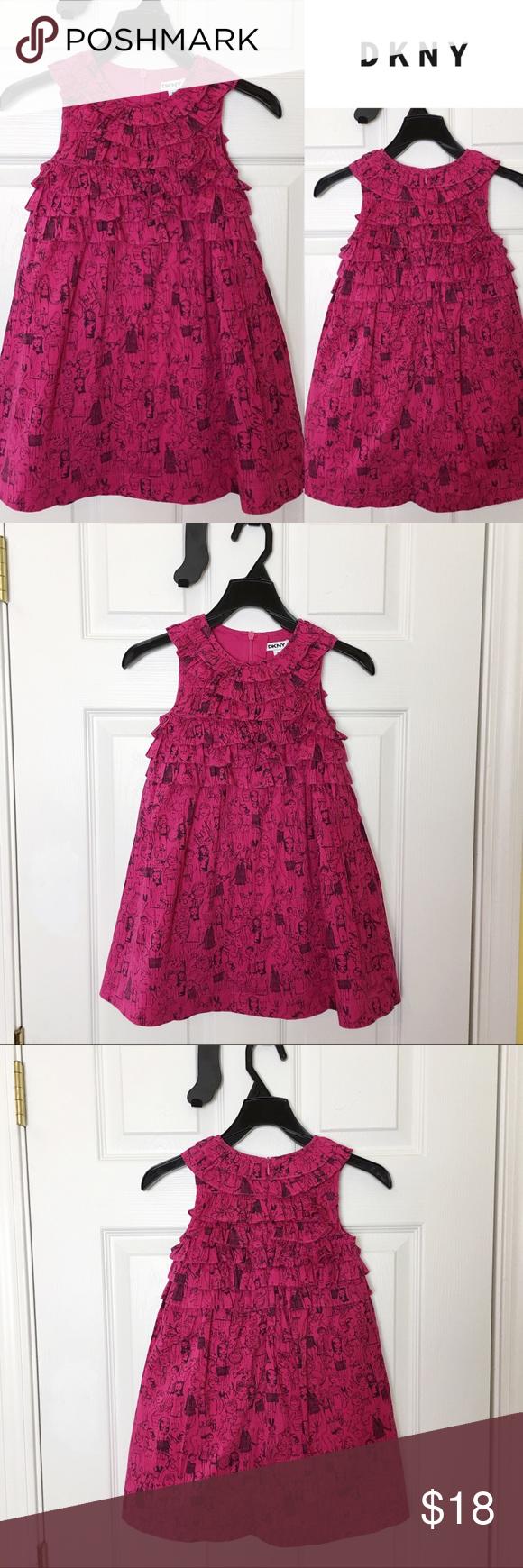 Dkny Girls Hot Pink Dress Barely Gently Worn Dkny Girls Hot Pink Dress Size 4t 100 Cotton Dkny Dresses C Hot Pink Dresses Pink Dress Dkny Dress [ 1740 x 580 Pixel ]