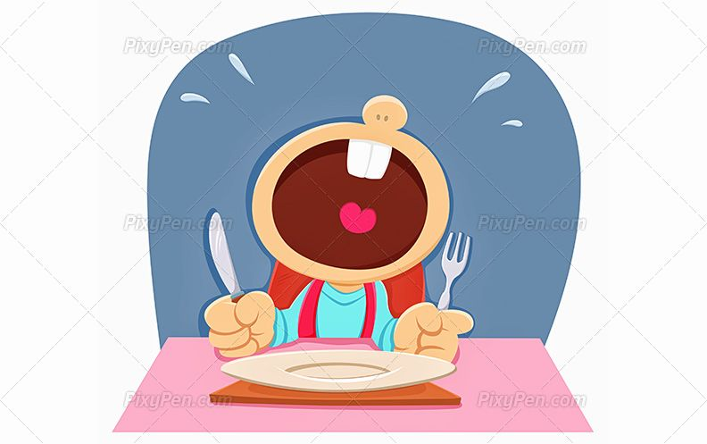 Hungry Stock Illustrations, Cliparts And Royalty Free Hungry Vectors