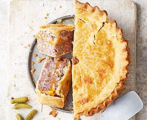 Picnic pie | Recipe | Pork cheese, Bbc good food recipes, Food
