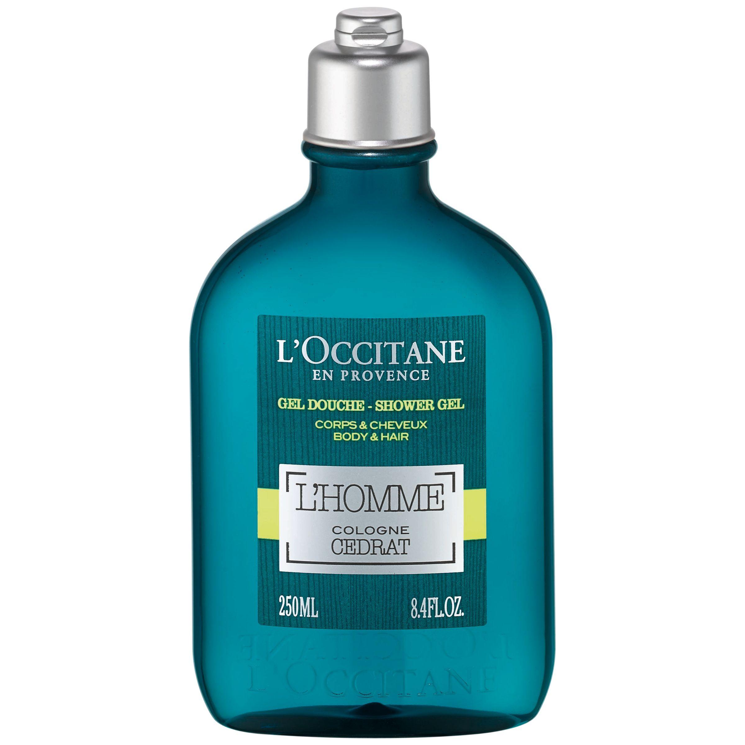 L'Occitane L'Homme Cologne Cedrat Shower Gel, 250ml