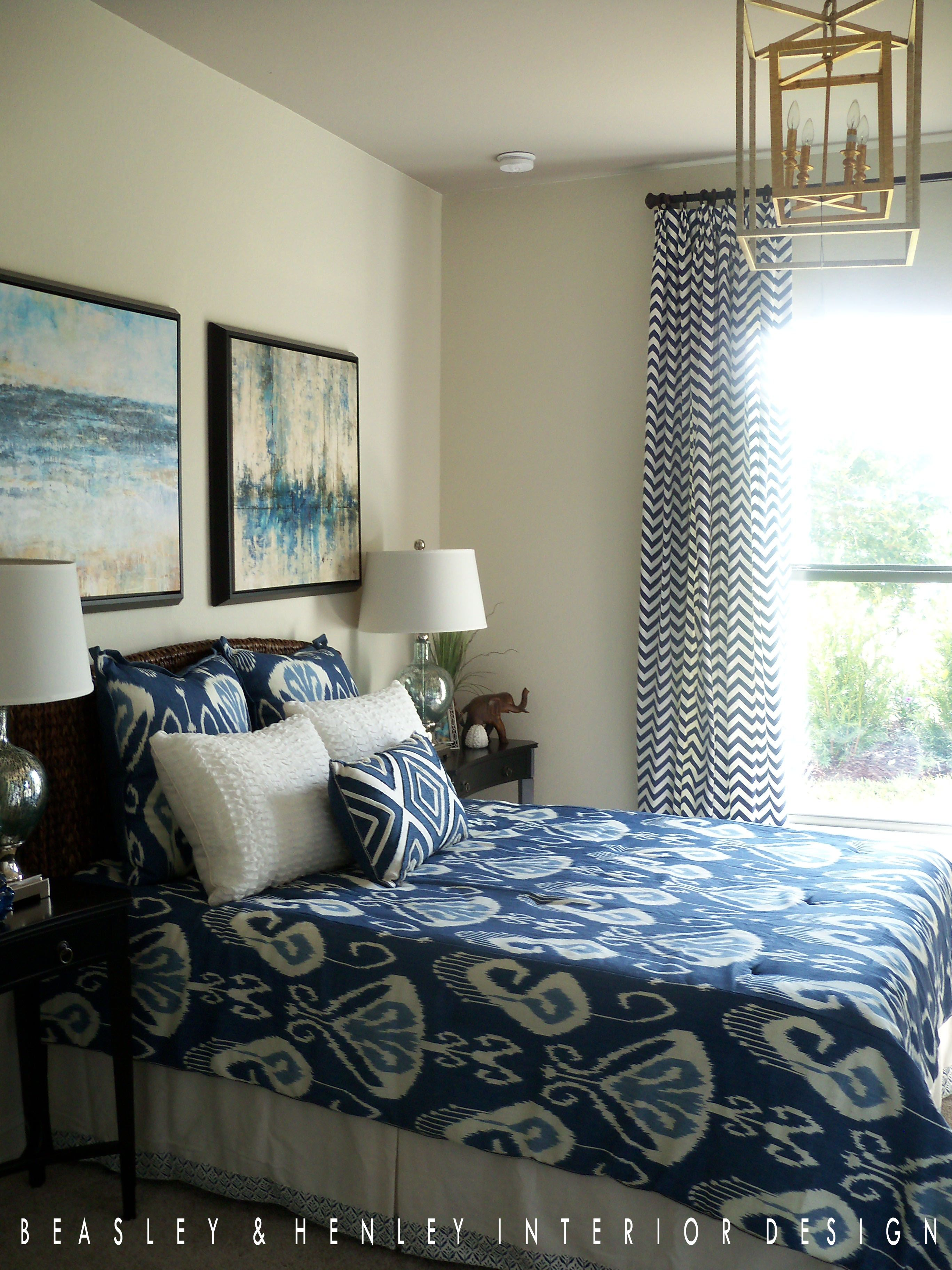 bedroom designed by beasley henley interior design naples fl