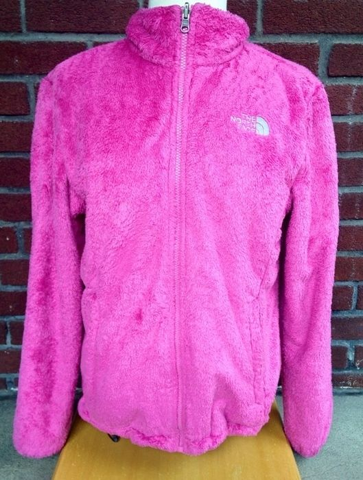 e790b14b74f6 Item  The North Face Pink and Grey Jacket Super Fuzzy and warm Size Large