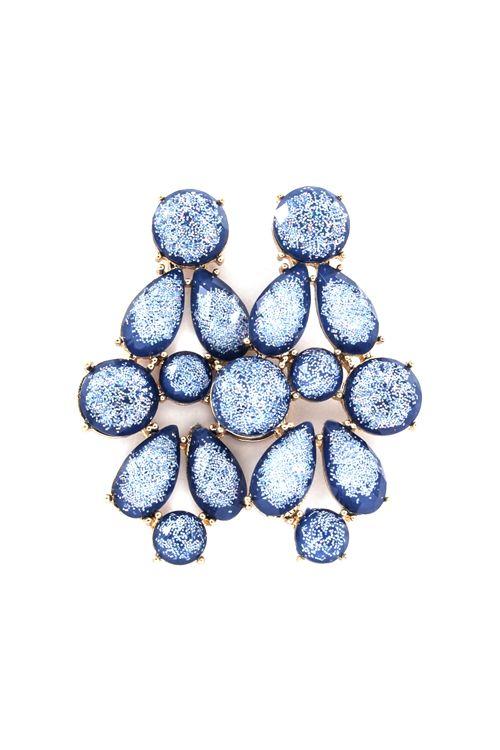 Rivierra Chandelier Earrings On Emma Stine Limited