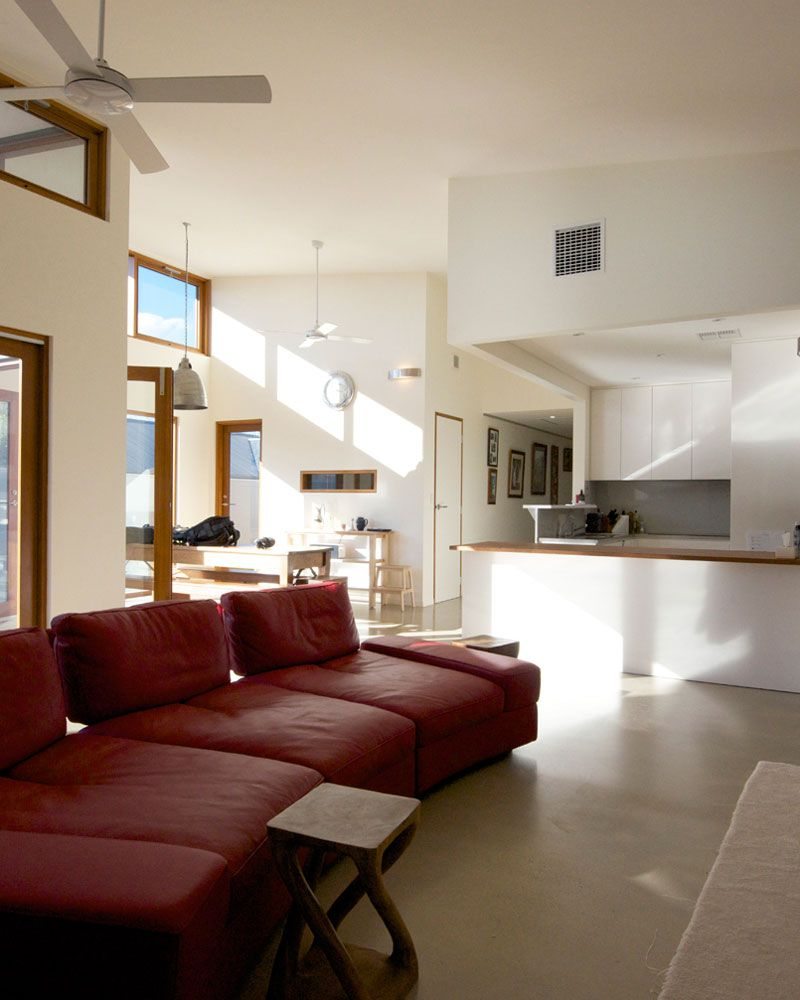51 Modern Living Room Design From Talented Architects: A Modest 1940s Austerity Style Home