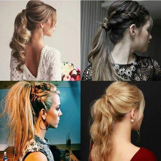Pony tail hair styles