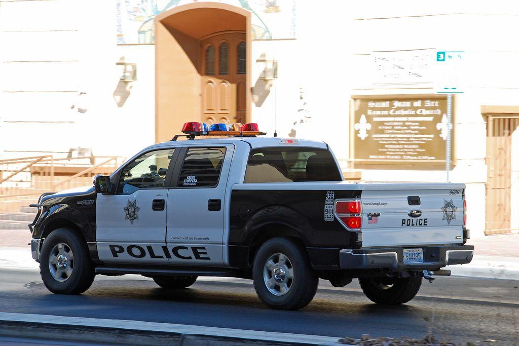 Las Vegas Police Police Truck Police Cars Police