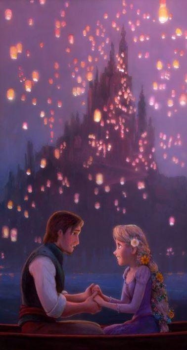 Wallpaper Phone Disney Tangled Lanterns 55 Super Ideas Wallpaper