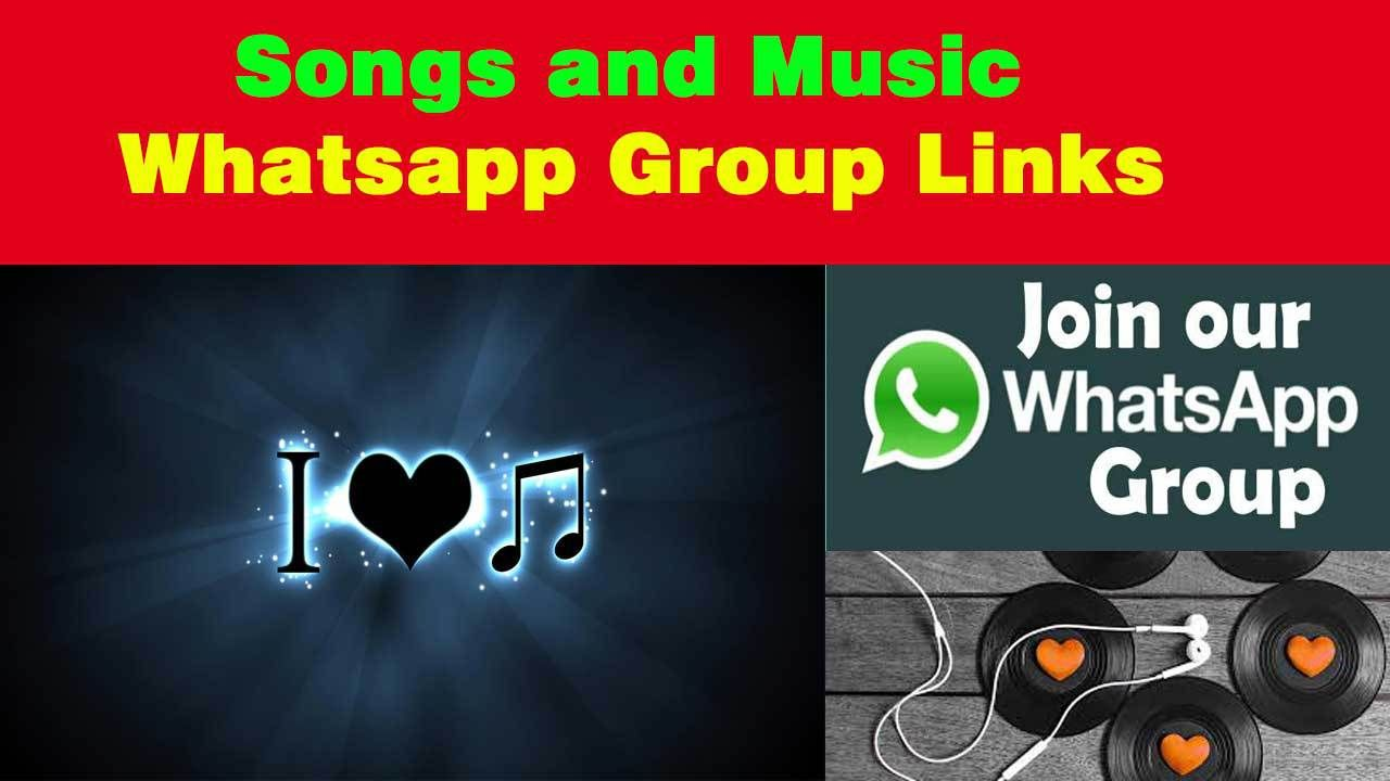 Songs and Music Whatsapp Group Links Join Free All Whatsapp Users