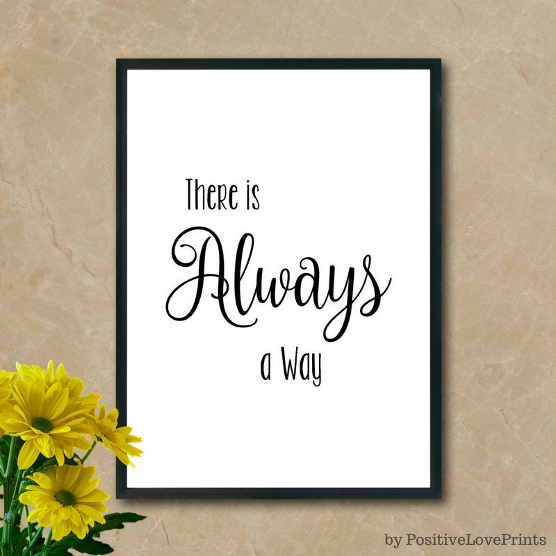 Poster Motivational Quotes Positive Words Office Inspirational Art Wall 135