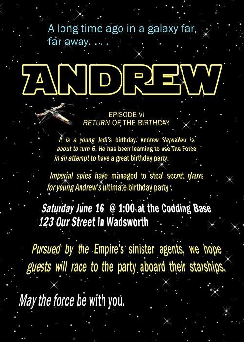 Star Wars Birthday Invitations Template Fresh Pinning This for Sis Mat Would Loo...