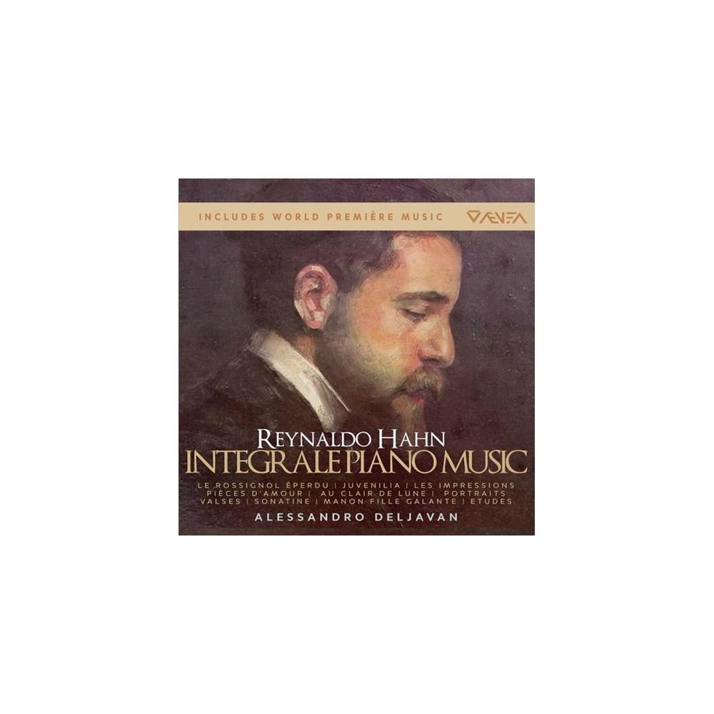 Alessandro deljavan - Hahn:Complete piano works (CD)
