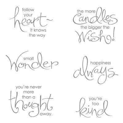 Follow your heart it knows the way and Small Wonder only