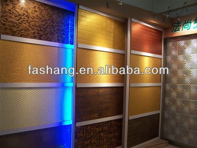 Customized embossed mdf wall panel wood mdf decorative - Interior decorative stone wall panels ...