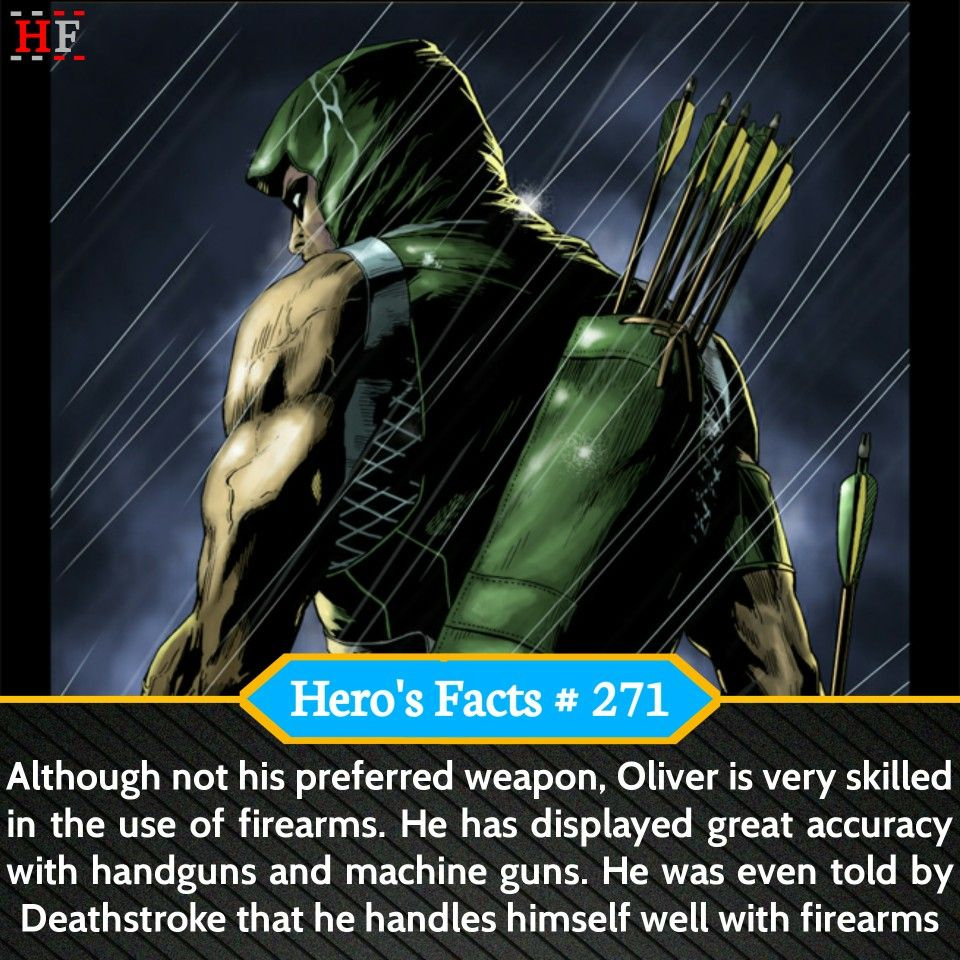 green arrow oliver queen superhero facts dc dccomics dceu