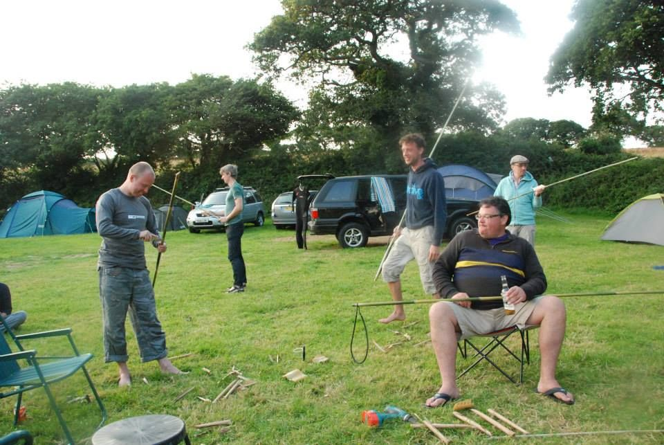 spear making after a few beers