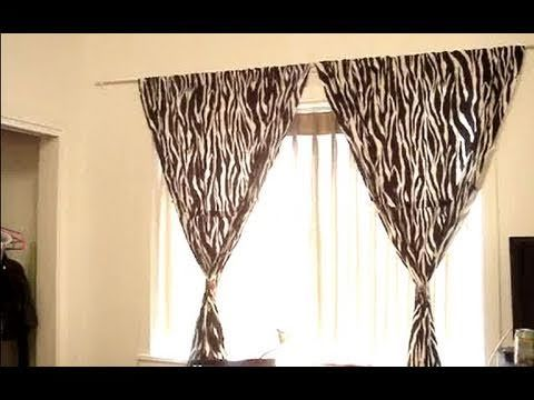 How To Hang Curtains Without Making Holes In The Wall Curtains Without Nails Hanging Curtains Curtains