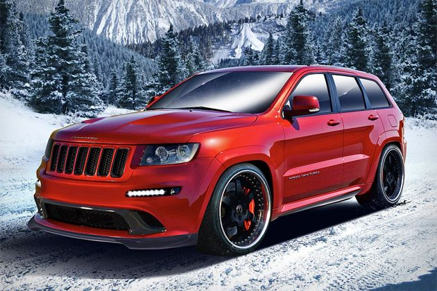 The Hennessey Jeep Grand Cherokee Hpe800 235 000 Takes Jeep S