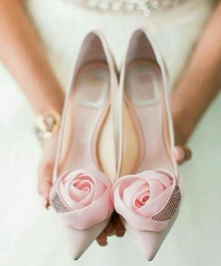 Marriage Bride Wedding Shoes Crystal Shoes High Heels Flat Shoes Church Wedding Outdoor Wed Pink Wedding Shoes Wedding Shoes Vintage Silver Wedding Shoes
