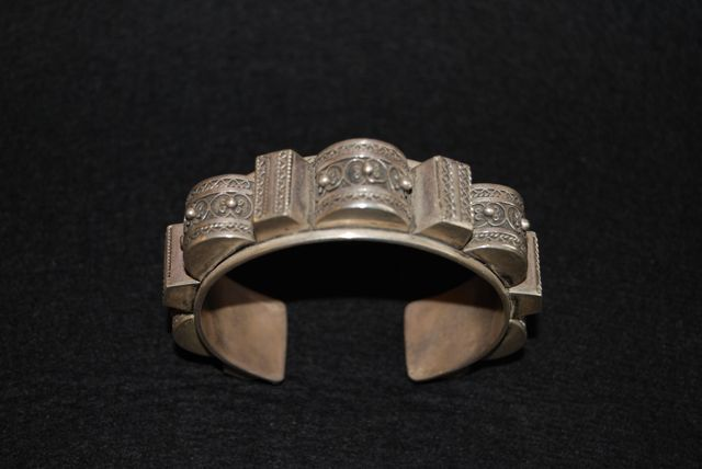 Berber silver bracelet from the Anti Atlas region of Morrocco. Price: on request For more information, please email me at didiergregoire03@gmail.com