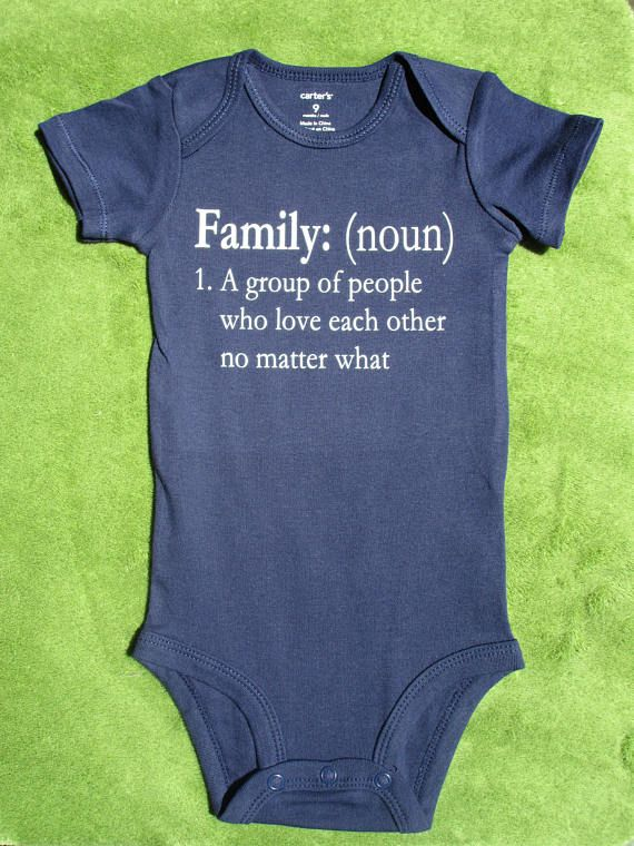 Super sweet family definition for everyone   Baby onesies ...
