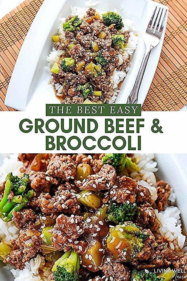 Dies ist das beste einfache Rezept für Rinderhackfleisch und Brokkoli  perfekt für eine gesc Dies ist das beste einfache Rezept für Rinderhackfleisch und B...