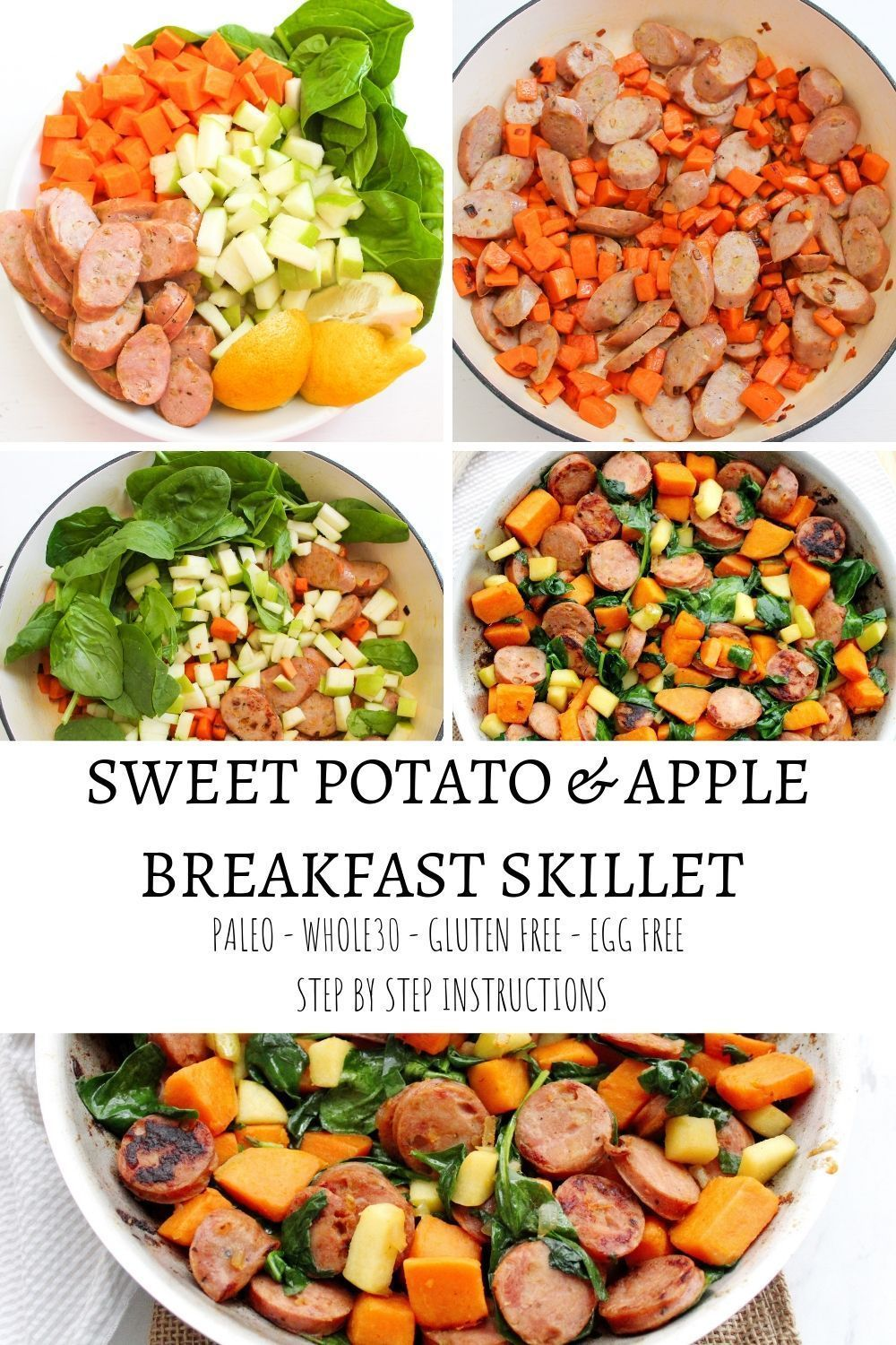 Sweet Potato and Apple Breakfast Skillet- Egg Free images