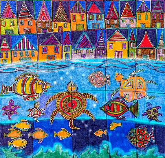 Under the Sea by doraficher on Etsy,